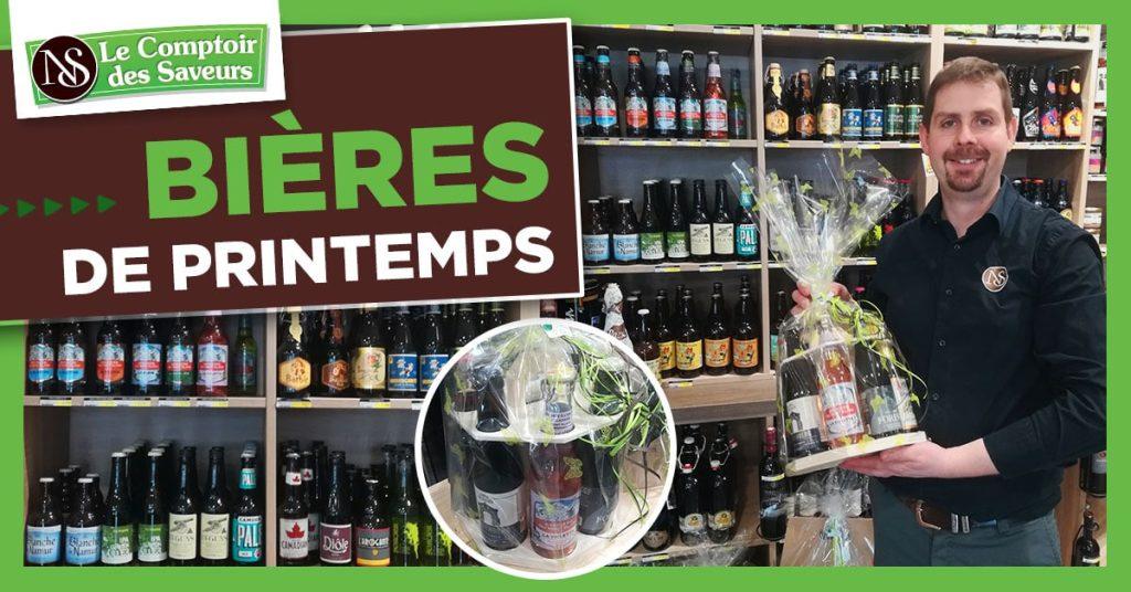 biere printemps Comptoir des saveurs Sarrebourg